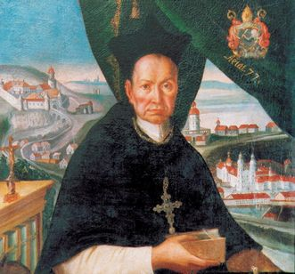 Image: Portrait of Abbot Knittel