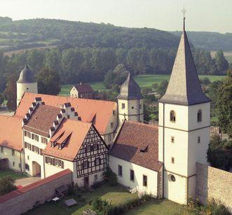 Image: Aerial view of Schöntal Monastery