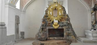 Image: The holy sepulcher in the Schöntal monastery church