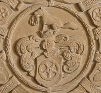 Image: Detail of the Berlichingen coat of arms, Schöntal Monastery