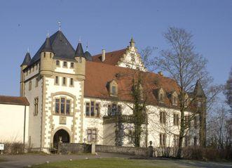 Außenansicht der Götzenburg in Jagsthausen