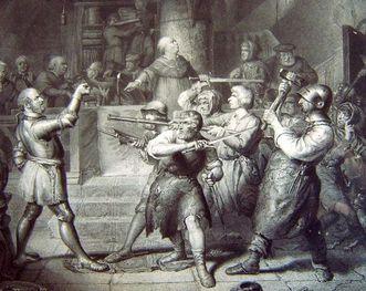 Götz von Berlichingen vor dem Heilbronner Rat