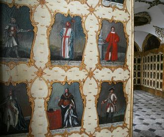 Image: Painting gallery in the Order Hall, Schöntal Monastery