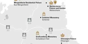 """journey map """"Hohenlohe & Ellwangen"""""""