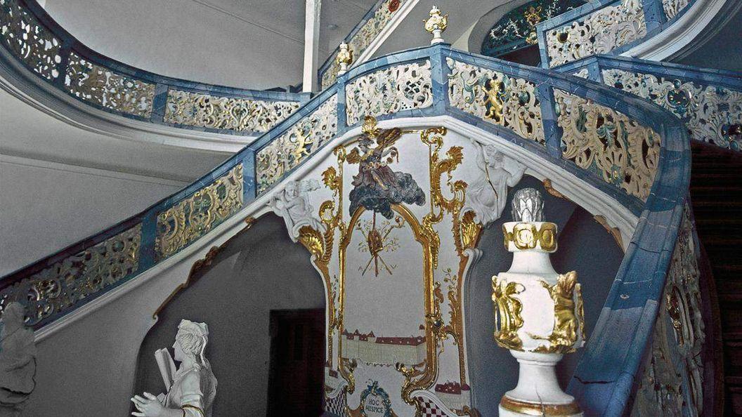 Monastère de Schöntal, escalier