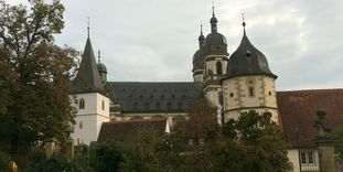 Exterior of Schöntal Monastery